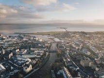 Galway stad royaltyfri foto