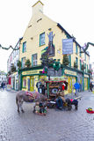 Galway street view Royalty Free Stock Photo