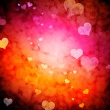 Galáxia do amor Fotos de Stock