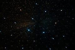 Galáxia do universo do espaço Fotos de Stock Royalty Free