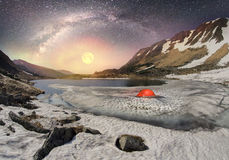 Galáxia e Berbeneskul Imagens de Stock