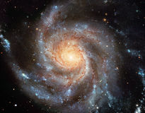 Galáxia espiral Imagens de Stock