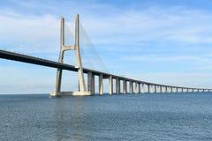 Gama του Vasco DA γέφυρα - Λισσαβώνα, Πορτογαλία Στοκ Φωτογραφίες