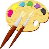 Gama de colores Imagenes de archivo