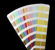 Gama de colores. Aislado Imagen de archivo libre de regalías