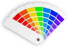 Gama de colores de color Fotos de archivo libres de regalías