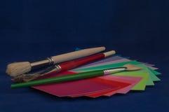 Gama de colores de color Fotos de archivo