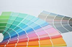 Gama de colores de color Foto de archivo libre de regalías