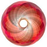 Gama de colores de color del vórtice Imagenes de archivo