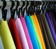 Gama de colores de cuero Imágenes de archivo libres de regalías