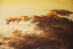 Gama de colores de ?elestial Foto de archivo libre de regalías