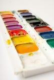 Gama de colores de la acuarela Imagenes de archivo