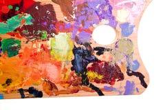 Gama de colores de la pintura Foto de archivo
