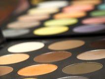 Gama de colores de sombras Imagen de archivo