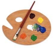 Gama de colores del arte Imagen de archivo libre de regalías
