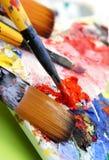 Gama de colores del arte Fotos de archivo libres de regalías