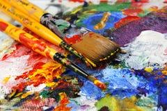 Gama de colores del arte Imagenes de archivo