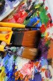 Gama de colores del arte Fotografía de archivo libre de regalías