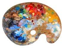 Gama de colores del artista Fotos de archivo libres de regalías