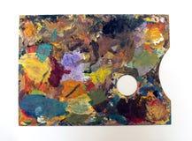 Gama de colores del artista Fotografía de archivo