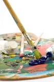 Gama de colores del artista Imagenes de archivo