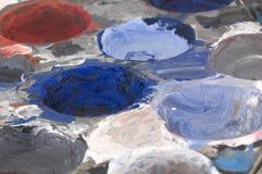 Gama de colores del artista Imagen de archivo libre de regalías