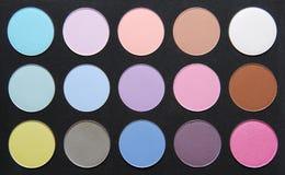 Gama de colores del color en colores pastel seco sh Foto de archivo libre de regalías