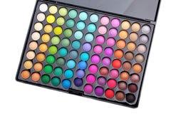 Gama de colores del maquillaje Fotografía de archivo