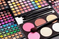 Gama de colores del maquillaje imágenes de archivo libres de regalías