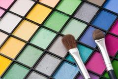 Gama de colores del maquillaje Foto de archivo
