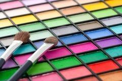 Gama de colores del maquillaje Imagenes de archivo