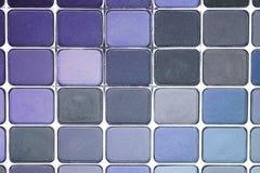 Gama de colores del sombreador de ojos imágenes de archivo libres de regalías