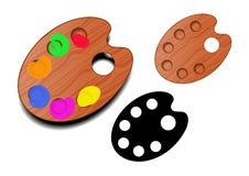 Gama de colores del vector Imagen de archivo