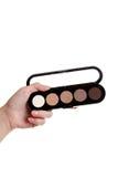 Gama de colores para el maquillaje Fotos de archivo libres de regalías