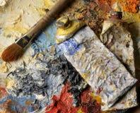 Gama de colores y tubos Imagen de archivo libre de regalías