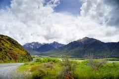 Gama de Craigieburn, Nueva Zelanda Imagenes de archivo