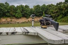 Gama de rifle Fotos de archivo