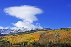 Gama de Sneffels del soporte, Colorado imágenes de archivo libres de regalías