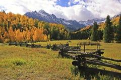 Gama de Sneffels del soporte, Colorado foto de archivo libre de regalías