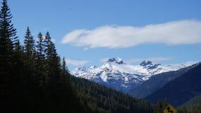 Gama del norte de Moutain de la cascada, Washington State, los E.E.U.U. Fotos de archivo libres de regalías