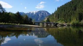 Gama del norte de Moutain de la cascada, Washington State, los E.E.U.U. Imagenes de archivo