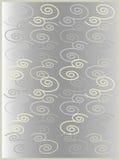 Gama floral 2 del gris stock de ilustración