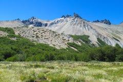Gama, la Argentina y Chile centrales de los Andes Fotografía de archivo