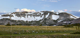 Gama Nevado, Wyoming foto de archivo