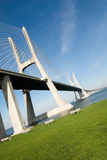 Gama van Vasco DA brug Royalty-vrije Stock Fotografie