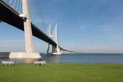 gama Vasco DA γεφυρών Στοκ φωτογραφία με δικαίωμα ελεύθερης χρήσης