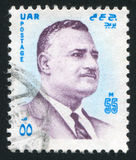 Gamal Abdel Nasser Royalty Free Stock Photography