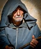 Gamal man i marrakesh Fotografering för Bildbyråer