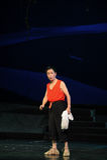 Gamala mannens den Jiangxi för monologportvakter operan en besman Arkivfoto