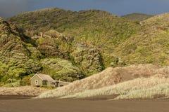 Gamas de Waitakere cerca de la playa de Karekare Imagenes de archivo